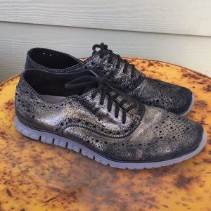 Cole haan metallic Zero sneaker 6.5